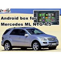 Wholesale Android os car navigation box video interface for Mercedes benz ML mirrorlink web video music play from china suppliers