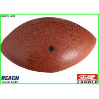 Wholesale Standard Size 9 Adult Leather American Football Balls Mini Rugby Ball for Match from china suppliers