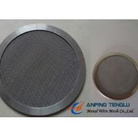 Wholesale Round Shape Filter Disc, Mainly With Stainless Steel Mesh, 10mm-1.2m Size from china suppliers