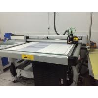 Quality Pattern PVC Cutting Machine 50mm / S With Sing Rail Horizontal Axis Structure for sale