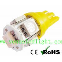 Wholesale Aqua Blue 5-SMD 5050 Light Bulb lamp T10 168 194 For LED Wholesale Bulk from china suppliers