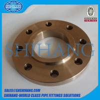 Quality copper nickel cuni 90/10 c70600 slip on flange for sale