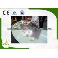 Wholesale Fish Shellfish Vegetable Nine Seat Gas Teppanyaki Grill , Griddle Top Gas Grill from china suppliers