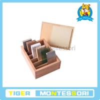 Wholesale Montessori sensorial materials,wooden toys,educational toys for kids-Thermic Tablets from china suppliers