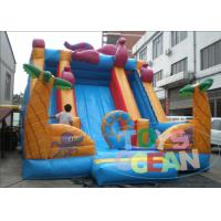 Wholesale Octopus Theme Gaint Inflatable Slides For Playground , Inflatable Water Slide Rentals from china suppliers