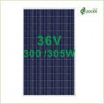 Wholesale 260 Watt / 265 Watt Polycrystalline Solar Panels 25 Years Lifespan from china suppliers