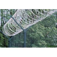 High Strength Anti Corrosion Razor Fencing Wire , Razor Blade Barbed Wire Metal