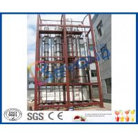 Wholesale Peach / Apple Juice Concentrator Multiple Effect Evaporator 28KW Total Rated Power from china suppliers