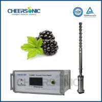 Wholesale IUIP3000 Efficient Ultrasonic Extraction Equipment for Procyanidins from china suppliers