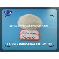 Wholesale POTASSIUM TITANATE(FAIRSKY)&Mainly used on the Flux-cored wire&Leading supplier in China from china suppliers