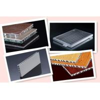 Wholesale honey-comb, corrugated, meshy panel decorative material from china suppliers