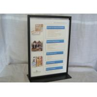 Quality Easy Portability A4 Durable Metal Tabletop Display Stands for sale