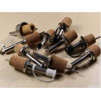 Wholesale 2016 Best Selling Cork Stainless Steel Oil/Wine Pourer with Cork Stopper from china suppliers