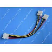 Quality Molex 4 Pin To Molex 4 Pin Cable Harness Assembly Pitch 5.08mm For Computer 200mm for sale