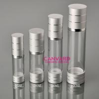 Wholesale Airless pumps with silver ring 15ml,30ml,50ml,100ml from china suppliers