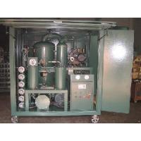 Quality Vacuum Automatic Two-Stage Transformer Oil Purifier for sale