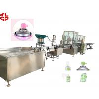 Wholesale Automatic Fresh Air Aerosol Filling Equipment , Vacuum Crimping Gas Filling Machinery from china suppliers