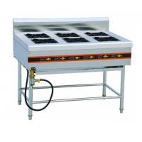 Wholesale Freestanding 4 Burner Gas / Electric Cooking Range For Government Kitchen from china suppliers