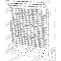 Wholesale Welded Fence With Barbed Wire Type from china suppliers