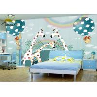 Wholesale Nursery Decor Fabric Wall Covering Formaldehydeless Unique 4 Layer Structure from china suppliers