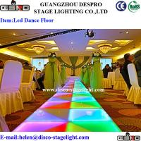 Wholesale Amazing Color LED Dance Floor Lights , Wedding Dance Floor Lighting from china suppliers