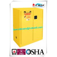 Wholesale Lockable Safety Storage Cabinets Adjustable Fireproof Vents For Flammable Liquids from china suppliers