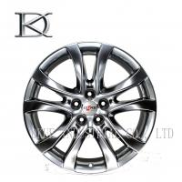 Quality Replica BBS Black 4X4 Wheels Rims / 17 Inch Alloy Rims 5 Hole 7.5 Width for sale