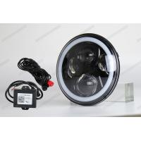 Wholesale 4X4 7 inch Jeep LED Headlights High low beam Halo RGB By Phone bluetooth from china suppliers