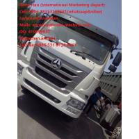 Wholesale 30 - 40tons industrial Heavy Duty Tipper Dump Truck , Driving Axle HC16 AC16 from china suppliers