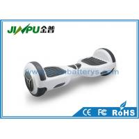 Quality Two Wheel Self Balancing Scooter 6.5 Inch Tire With Colorful LED Light / Bluetooth Speaker for sale