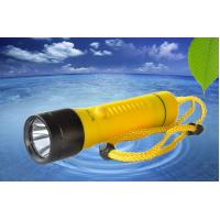 Wholesale 800LMLED Dive Torch Under Water 100m Waterproof Plastic Diving Torch D-X4 1xXML2 from china suppliers