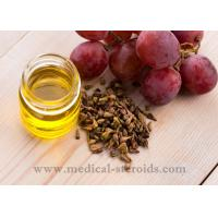 Wholesale Yellow Oild Liquid Grapeseed Oil For Cooking Cosmetics And Dissolved Steroid from china suppliers