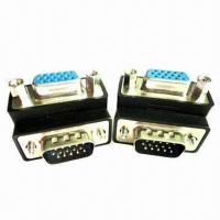 Buy cheap Right-angle D-sub/VGA Adapter with VGA to SVGA Connector from wholesalers