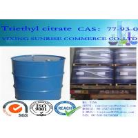 Quality Triethyl Citrate Plasticizer CAS 77-93-0 C12H20O7 Light Fastness Oil Resistance for sale