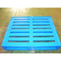 Wholesale Durable Economical Powder Coating Steel Pallets With Four Way Entry from china suppliers