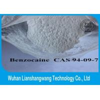 Wholesale 99% Purity White Local Anesthetic Drugs Raw Benzocaine Powder CAS 94-09-7 from china suppliers
