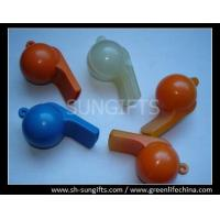Wholesale Plastic football shape whistles with smooth surface from china suppliers