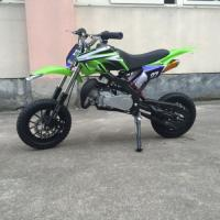 Buy cheap 70CC 1P47FMD Single Cylinder Air Cooled Dirt Bike Motorcycle With Front / Rear Drum from wholesalers