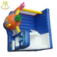 Wholesale Hansel colourful kids playing inflatable toy amusment park inflatable bouncers manufacturer from china suppliers