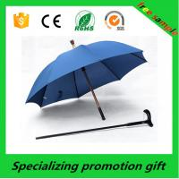 Wholesale Popular Walking Stick Custom Printed Umbrellas Blue With Digital Printing from china suppliers