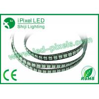 Wholesale 144leds / M DC 5V flexible waterproof LED strip Digital RGB Full Color from china suppliers