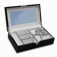Wholesale Wooden Jewelry Gift Box, High-glossy Finishing Exterior And Luxury Pandora Jewelry Box from china suppliers