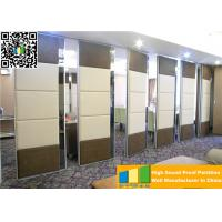 Wholesale Motorized Manual Operated Projector Fireproof Sliding Partition Wall For Auditorium from china suppliers