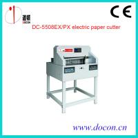 China DC-5508PX electric paper guillotine on sale