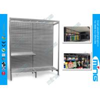 Wholesale Double Sided Retail Display Shelves Units Gondola Solid Pegboard Panel from china suppliers
