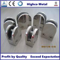 Buy cheap Stainless Steel Middle D Shape Flat Glass Clamp 63x45mm Fit 10.76-12.76mm Glass for Glass Railing and  Handrail from wholesalers