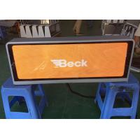 Buy cheap P2.5 Taxi Mobile LED Display For Outdoor Advertising Full Color  Car Top Led Display Most High Definition Taxi Led from wholesalers