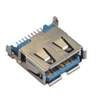 Wholesale Computer Pin Connectors Right Angle SMT blue color  Sink Style 3.5mm LCP UL94V-0 from china suppliers