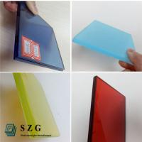 Buy cheap China glass factory supply high quality color eva film laminated glass suppliers from wholesalers