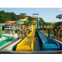 Buy cheap Huge open flume spiral water slide High Speed Water Slide For Aqua Park from wholesalers
